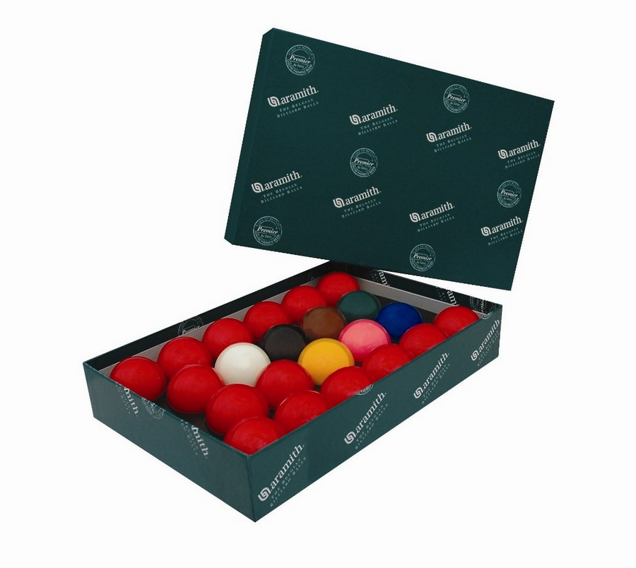 Шары для снукера Aramith Snooker 52.4mm