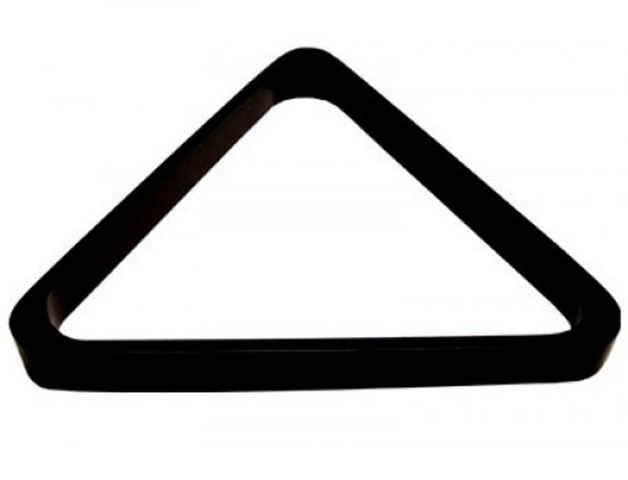 "Треугольник 68 мм ""Rus Pro"" (черный пластик)"